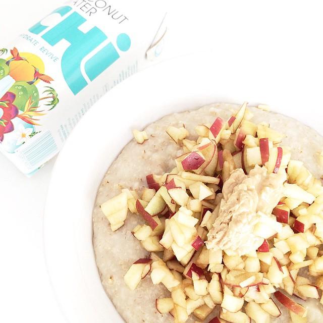 God start på dagen! #healthybreakfast #chicoconut @chicoconutwater